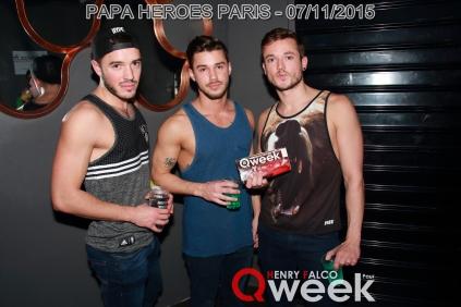 TAG QWEEKPapa Heroes Party Paris 118Qweek
