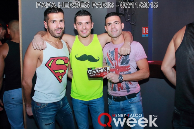 TAG QWEEKPapa Heroes Party Paris 189Qweek