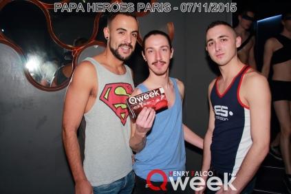 TAG QWEEKPapa Heroes Party Paris 220Qweek