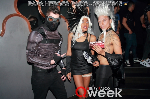 TAG QWEEKPapa Heroes Party Paris 226Qweek
