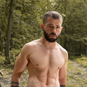 Naked Man in the Forest
